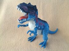 Chap Mei Dino Valley T-REX Blue White Dinosaur with Lights and Sounds!!