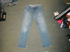 Gap Cotton Stonewashed Straight Leg Jeans for Women