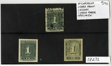 Nicaragua Stamps # J42 Proof And Specimens