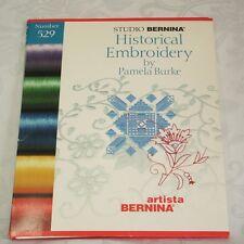 Studio Bernina 529 HISTORICAL EMBROIDERY CARD Artista 165 170 180
