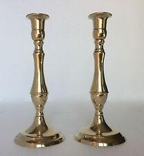 2 x Kerzenleuchter Messing Kerzenständer gold Kerzenhalter 23cm  80336