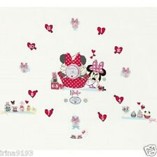 Disney Minnie Mouse Wall Clocks Tick Tock Teller Vinyl Wall Stickers,Home Decor