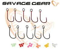 New Savage Gear Kit S1 Single Hook 3/0 4/0 Predator Lure Fishing Perch Cod Bass