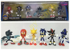 6 PCS Game Sonic The Hedgehog Mini Figure Classic Collection PVC Toy Kids NEW