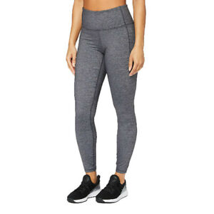 Under Armour Womens Meridian Heather Tights Bottoms Pants Trousers Grey Sports