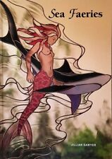 Sea Faeries 1998 Stained Glass Pattern Book - Dolphin Seahorse Turtle Mermaids
