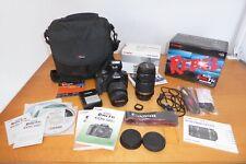 Canon EOS Rebel T1i / EOS 500D 15.1MP DSLR Camera - w/ 18-55mm & 55-250mm lens