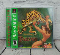 Disney Tarzan Greatest Hits (Sony Playstation 1) PS1 Video Game Complete