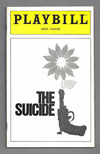 "Derek Jacobi (Signed) ""THE SUICIDE"" Chip Zien / David Sabin '80 Preview Playbill"