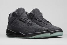 84b9e772d4d NEW Nike Air Jordan 3 Retro Flyknit Black AQ1005-001 US 10.5 EU 44.5 UK