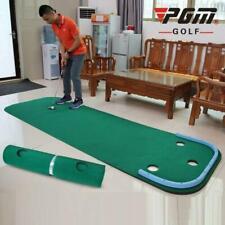 PGM Mini Golf Putting Green Protable Golf Practice Trainer Mat Practice Blanket