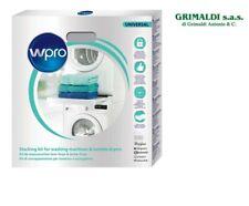 Kit sovrapposizione lavatrice e asciugatrice ripiano con estraibile 60 x 60 Wpro