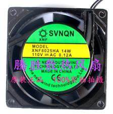 For Small Incubator Fans Svnqn Xnf8025ha 110v 14w 012a