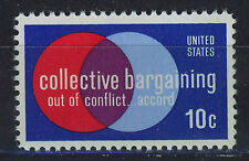 ESTADOS UNIDOS/USA 1975 MNH SC.1558 Collective Bargaining Law