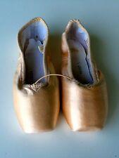 Sansha Ballet Point Shoes Whisper Style 202 Pink Satin Size 5M