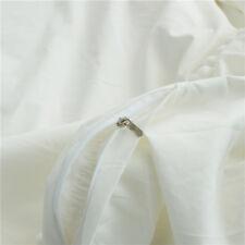 Full Size,White, Pom Pom Bedding, Duvet Cover for Apartment, Home