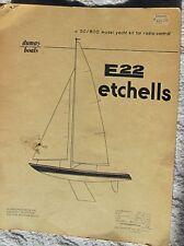 Marblehead E22 Dumas building guide for R/C Sail Boat 50/800