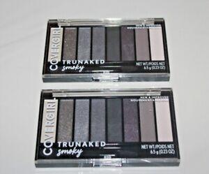 COVERGIRL TruNaked Eyeshadow Palette #820 SMOKEY Lot Of 2 Full Size/Sealed
