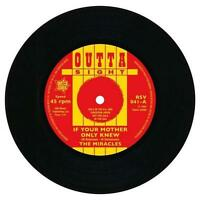 THE MIRACLES If Your Mother Only Knew  NORTHERN SOUL R&B 45 (OUTTA SIGHT)