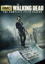 The Walking Dead: Season 5 (DVD, 2015, 5-Disc Set) Brand New