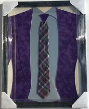 PSA/DNA Reporter CRAIG SAGER Signed Autographed Custom FRAMED Tie #SAGERSTRONG