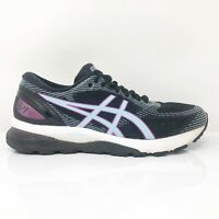 Asics Womens Gel Nimbus 21 1012A551 Black Running Shoes Lace Up Low Top Size 9.5