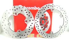 7A6+780 DISCHI FRENO BREMBO ANTERIORE + POSTERIORE HONDA SILVER WING 600  2001
