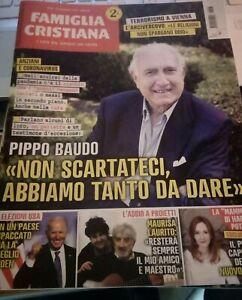 FAMIGLIA CRISTIANA 15/11/2020 M.Laurito ricorda G.Proietti/P. Baudo/Elezioni USA