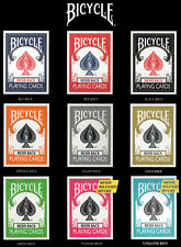 SET CARTE DA GIOCO BICYCLE COLOR COLLECTION,9 mazzi + 2 tappetini in box