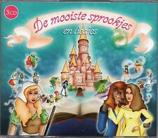 De Mooiste Sprookjes En Liedjes (3 x CD) Netherlands Childrens (New & Sealed)