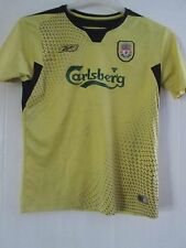 Liverpool 2004-2005 Away Football Shirt Size Large Boys /41455