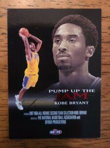 1998-99 Hoops Pump Up The Jam #4 Kobe Bryant LAKERS
