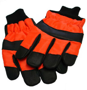 Gloves Cut-Resistant Class 0 for Chainsaw Unisex Size 12 RockWood