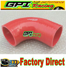 """Silicone 90 Degree Elbow Connector Turbo Hose Pipe 76mm/ 3"""" inch Intercooler re*"""