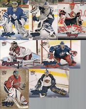 GOALIES 08/09 Fleer Ultra 7 Cd Lot Emery Bryzgalov Toskala Kolzig Gold Medallion