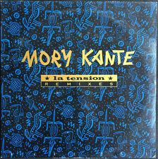 """Mory Kante 12"""" La Tension (Remixes) - Promo - France"""