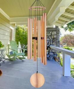 Memorial Wind Chimes Outdoor Large Deep Tone 36 Inch Sympathy Wind Chimes Ama...