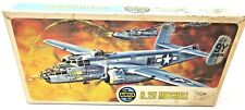 Vintage Airfix B-25 Model Mitchell Bomber Kit Series 4 Cat Model Kit  P/N: 485