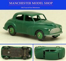 Dinky Toys 40G Morris Oxford, dark green with mid green hubs UNBOXED ORIGINAL