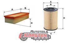 Set S: Ölfilter+Luftfilter Filterset AUDI SEAT SKODA VW