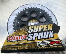 Supersprox Stealth Sprocket Ducati Multistrada 1200, 737-40, #530 Edge Black