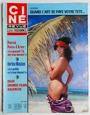►CINE REVUE 29/1978-RAYMOND ROULEAU-LILIAN HARVEY-DEMIS ROUSSOS-SALVADOR DALI...