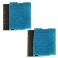 4x HQRP Coarse and Fine Pre-Filter Pads for Sunterra 320106 337106