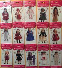 15 AMERICAN GIRL CRAFTS BUBBLE STICKERS (ASSORTED DOLLS )BRAND NEW AT LOW PRICE!
