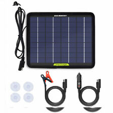 ECO-WORTHY 12 Volts 5 Watts Portable Power Solar Panel Battery Charger Ba... New