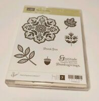 Stampin Up Day of Gratitude unmounted rubber stamp set