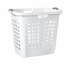 Sterilite  White  Plastic  Laundry Basket