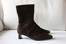GABOR Damen Stiefel Größe 5,5 (Gr. 38,5) Wildleder braun