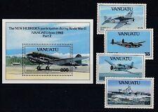 Flugzeuge  Vanuatu 914 - 17 + Block 20  ** (mnh)