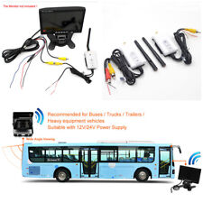 2.4G Wireless Transmitter+Receiver for Car Truck Rear-view Camera Video Monitor